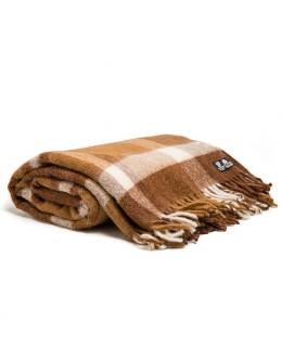 Throw, 40% alpaca, 60% new zealand wool, 170х210